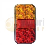 LED Autolamps 149 Series LED Stop / Tail / Indicator / Reflector Lamp
