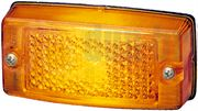 Hella 2PS 002 727-001 Side Marker Lamp with Reflector