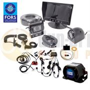 DBG CLOCS/FORS SILVER Standard Camera Monitor Scanner Kit for Articulated Vehicles