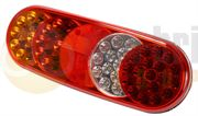 Britax/ECCO L78.01.LDV L78 Series LED REAR COMBINATION Light with SIDE MARKER 12/24V