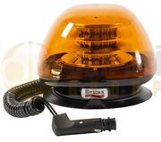 Britax B160 Series R65 LED Magnetic Mount Beacon - Amber