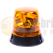 ECCO 400 Series Single Bolt Bulb R65 Rotating Amber Beacon 12/24V - 401.000 / 401.001 / 401.002