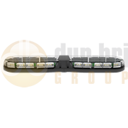ECCO 13-00002-E 13 Series 770mm AMBER/CLEAR 24 Module LED Lightbar R65 12/24V