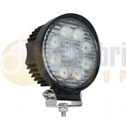 LED Autolamps 11127 Round 9-LED 1017lm Work Flood Light 12/24V - 11127BM