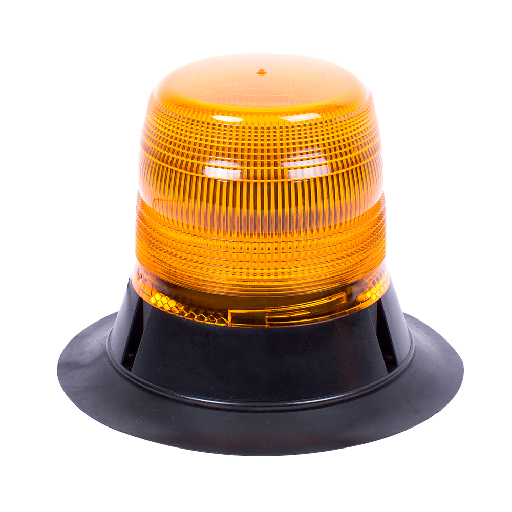 ECCO 400 Series R65 LED Magnetic Mount 70 Beacon - Amber