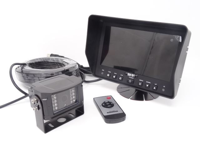"DBG Reversing Camera System (7"" Monitor / 1x Standard Camera / 1x 20m Cable) - Digital"