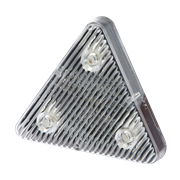 ECCO ED0003A Stick-A-LED™ Series Triangle 3-LED Directional Warning Module - Amber