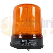 Britax 270 Series R65 Xenon Three Bolt Beacon - Amber
