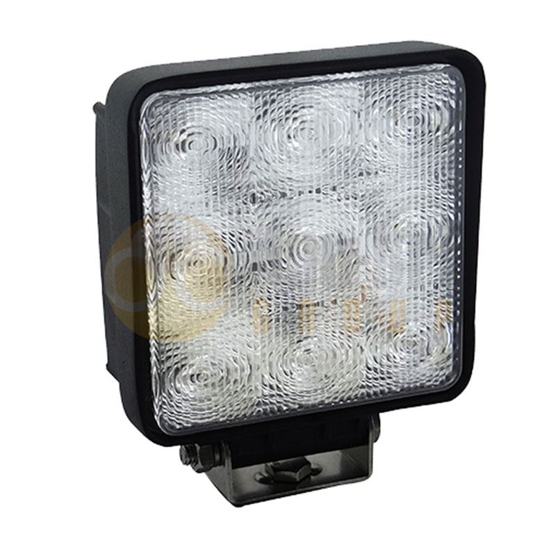DBG 711.003 Valueline Square 1300lm 9-LED Work Light (Flood) 12/24V