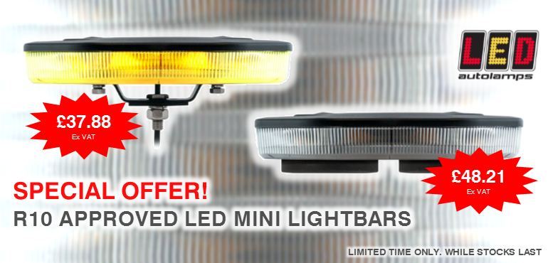 R10 Approved LED Mini Lightbars