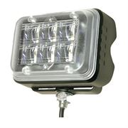 ECCO 497042 SecuriLED Series Bracket Mount R65 6-LED Directional Warning Module - Amber