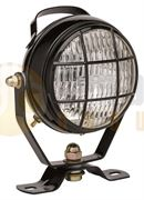 ABL 424 Series Round BULB Work Flood Light with Switch, Handle & Grill (Cable Entry) 12/24V - 2A0016A073641