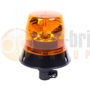ECCO 402.000 400 Series AMBER DIN Pole Mount Bulb ROTATOR Beacon R65 12/24V
