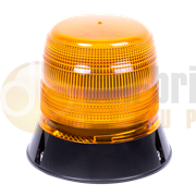 ECCO 5L1.204 400 Series Single Bolt AMBER Economy LED Beacon 12/24V