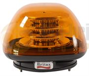 Britax B160 Series R65 LED Three Bolt Beacon - Amber