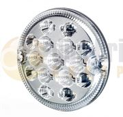 Truck-Lite/Rubbolite 837/15/00 M837 95mm Round LED REAR COMBINATION Light (Fly Lead) 12/24V