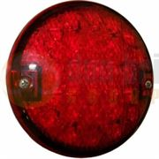 PEREI/LITE-wire SL800LED-24V 800 Series 140mm Round LED STOP/TAIL Light (6.3mm Spade) 24V