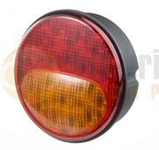 Rubbolite M838 LED Stop/Tail/Indicator Lamp (122mm) Fly Lead