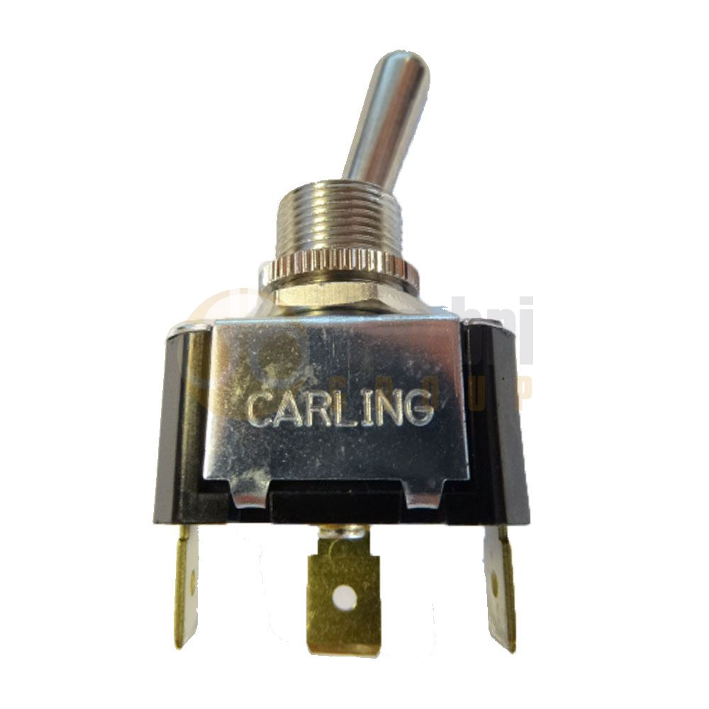 Carling F-Series Single Pole Toggle Switch - ON/ON or ON/OFF (12/24V)