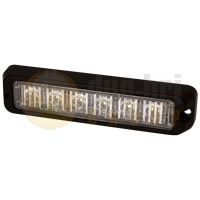 ECCO ED3706A ED3706 Series R65 6-LED Directional Warning Module - Amber
