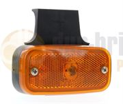 Vignal FE94 BULB SIDE MARKER Light with REFLECTOR & Bracket (Cable Entry) 12/24V - 194030