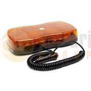 LAP Electrical LAP1220 R65 LED Magnetic Mount Mini Lightbar - Amber/Amber