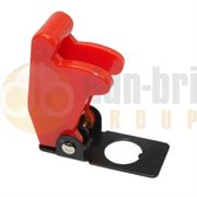 DBG 270.158 RED Aircraft Style Toggle Switch Cover - Pack of 1