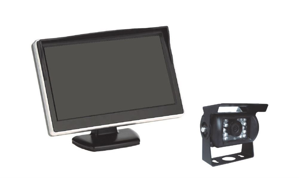 "DBG Reversing Camera System (5"" Monitor / 1x Standard Camera / 1x 20m Cable)"