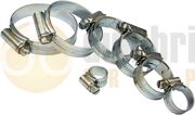 JUBILEE® Zinc Plated Steel Hose Clips - Small Sizes - 400.0153