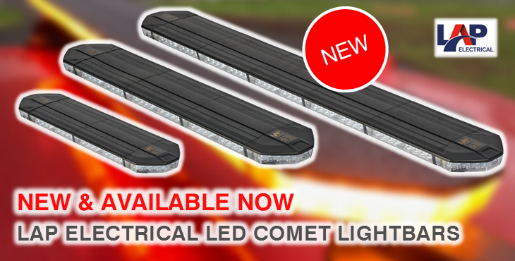 LAP Electrical Comet Lightbars