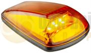 LED Autolamps 77AMB 77 Series LED Cat. 6 Side Indicator Lamp - Amber/Amber (Single Pack)