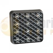 LED Autolamps 81 Series (80mm) Square LED REAR COMBINATION Light Fly Lead 12/24V - 81STIM
