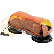 ECCO/Britax A424.00.12V A420 420mm AMBER Magnetic Mount ROTATING Mini Lightbar R65 12V