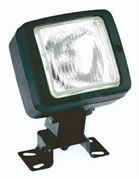 Britax 5815 Series Square BULB Work Flood Light 12/24V - 5815.00