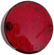 Perei/LITE-wire 84 Series (84mm) Round LED STOP / TAIL Light Fly Lead 24V - SL84LED24V