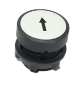 Up Arrow Flush Push Button