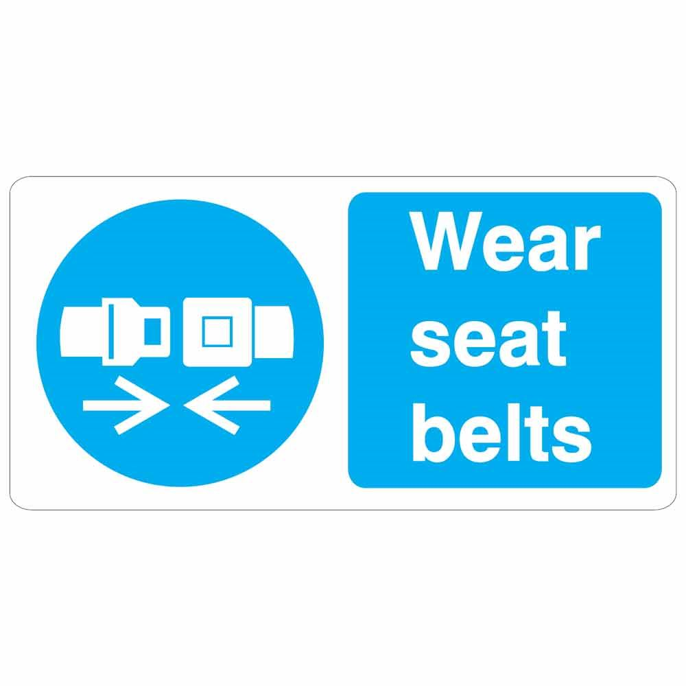 Wear-Seat-Belts-Sign-100-x-200-Self-Adhesive