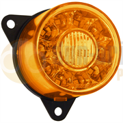 Perei/LITE-wire 55 Series (55mm) Round LED FRONT INDICATOR Light Fly Lead 24V - FD101SZZ-4-2-AA