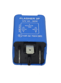 DBG 256.008 24V 3-Pin Electronic Hazard/Flasher Unit with Bulb Failure