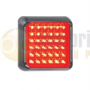 LED Autolamps 80 Series Stop / Tail Lamp Black