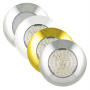 LED Autolamps 7524/7530 Series Round 75mm LED Interior Lights