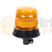 ECCO 5L2.204 400 Series DIN Pole Mount AMBER Economy LED Beacon 12/24V