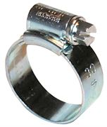 JCS HI-GRIP 17-25mm (0X) Zinc Plated Steel Hose Clip - Pack of 30 - 400.5185