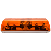 ECCO 700.002 70 Series 570mm AMBER 2 Module ROTATOR Lightbar R65 24V