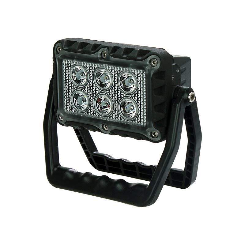 LED Autolamps USB Rechargeable Portable LED Work Light with Folding Stand