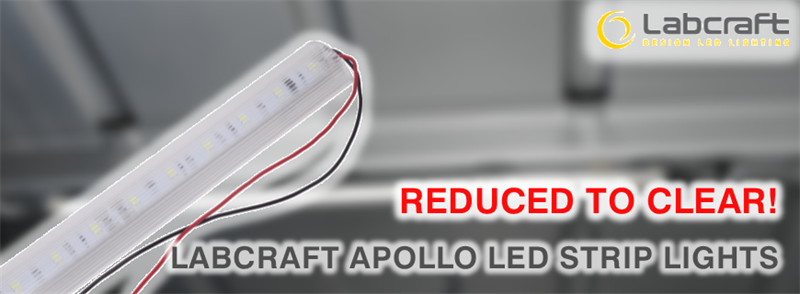 Labcraft Apollo LED Interior Strip Lights Offer