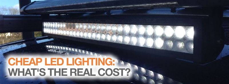 The true cost of untested, cheap LED work lighting – up to £1.69million