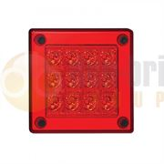 LED Autolamps 280 Series (90mm) Square LED STOP / TAIL Light Fly Lead 12/24V - 280RM