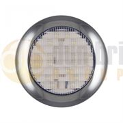 LED Autolamps 145 Series (145mm) Round LED REVERSE Light Fly Lead 12/24V - 145WME