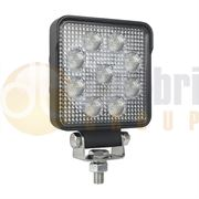 LED Autolamps 10015 Square 9-LED 1210lm Reverse/Work Flood Light 12/24V - 10015BM